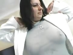 Squirting blackhaired milf.