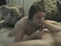 Teen Head #45 (18 y.o. Girl gives a looong Blowjob)