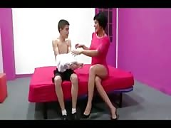 Spanish mature and boy with big cock 5