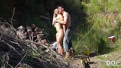 DDFBusty Briana Bounce - Blondie Got Fucked In The Woods By A Lumberman