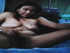 Evelyn Tolentino Rubite hot filipino fucking with eggplant