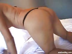 American fucker cums on the face of a sexy Asian babe